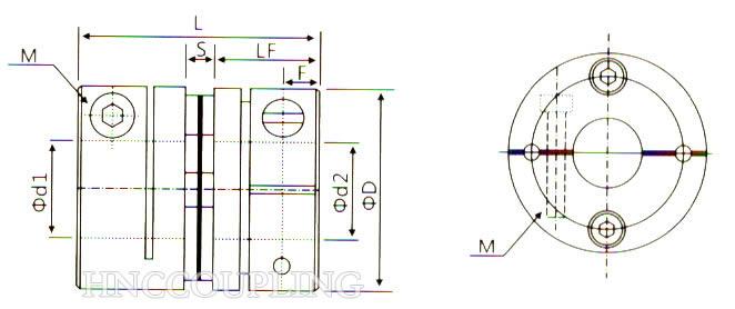 HD1C Diaphragm Coupling Size